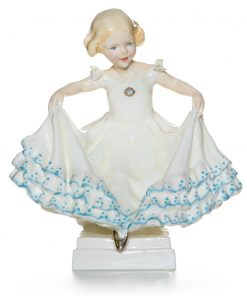 Masquerade Girl RW3360 - Royal Worcester Figure