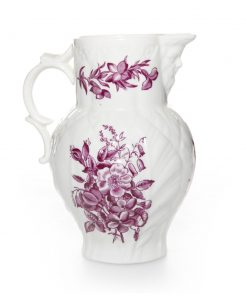 Pitcher with Purple Flowers Medium - Royal Worcester Decor