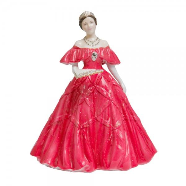 Queen Elizabeth, The Queen Mother (Red Gown)  - Royal Worcester Figurine