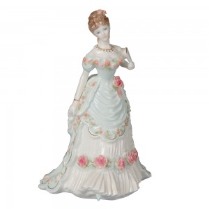 A Royal Anniversary CW317 - Royal Worcester Figure