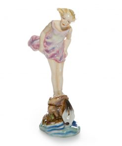 Sea Breeze RW3008 - Royal Worcester Figure
