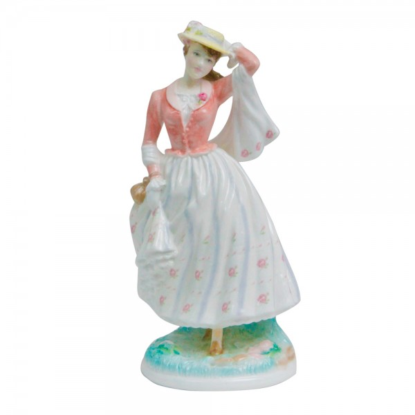 Sunday Best - Royal Worcester Figurine
