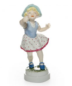 Sunday's Child Girl RW3518 - Royal Worcester Figure