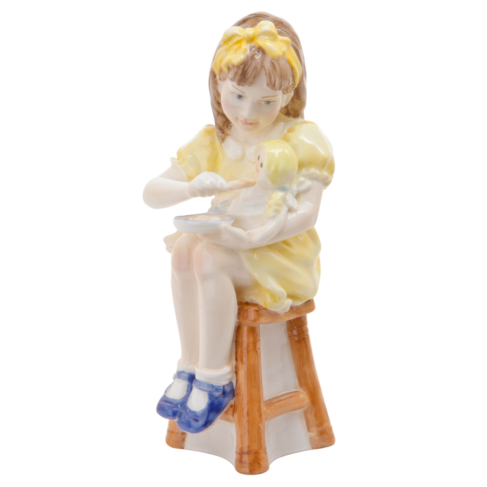 Teatime - Royal Worcester Figurine