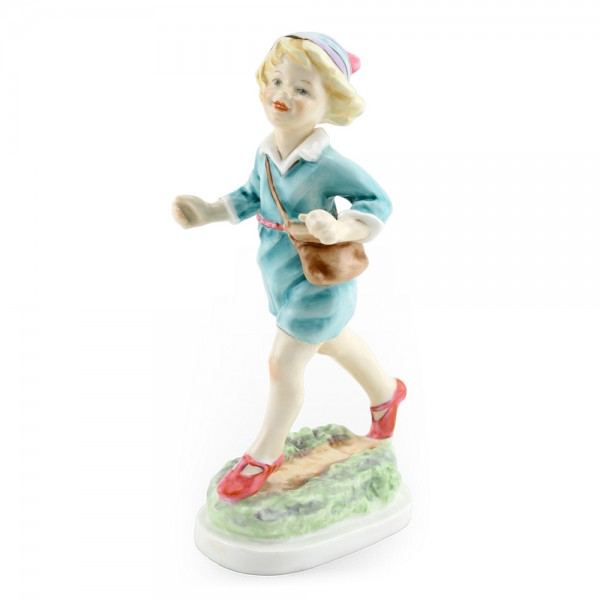 Thursday's Child Girl - Royal Worcester Figure