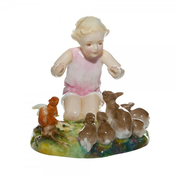 Woodland Dance RW3076 - Royal Worcester Figure