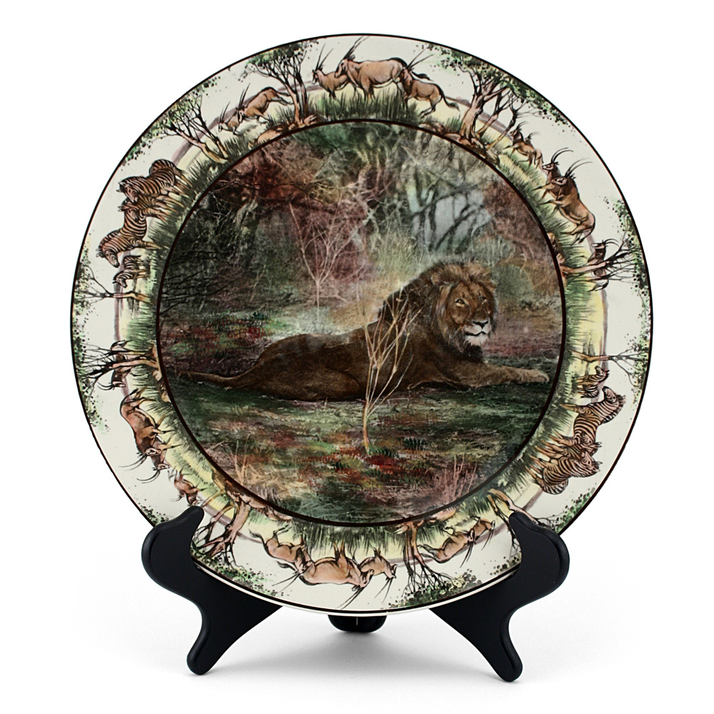 African Charger With Lions - Royal Doulton Seriesware