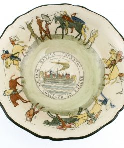 Bayeaux Tapestry Bowl, Small - Royal Doulton Seriesware