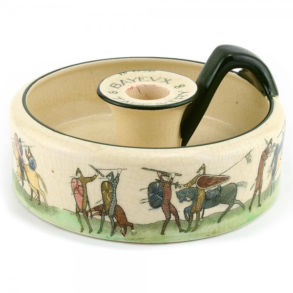 Bayeaux Tapestry Candle Holder - Royal Doulton Seriesware