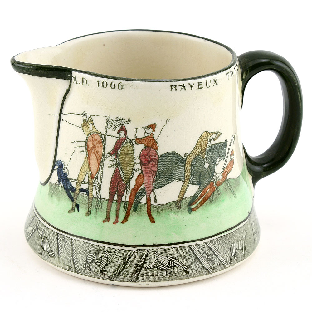 Bayeaux Tapestry Creamer - Royal Doulton Seriesware