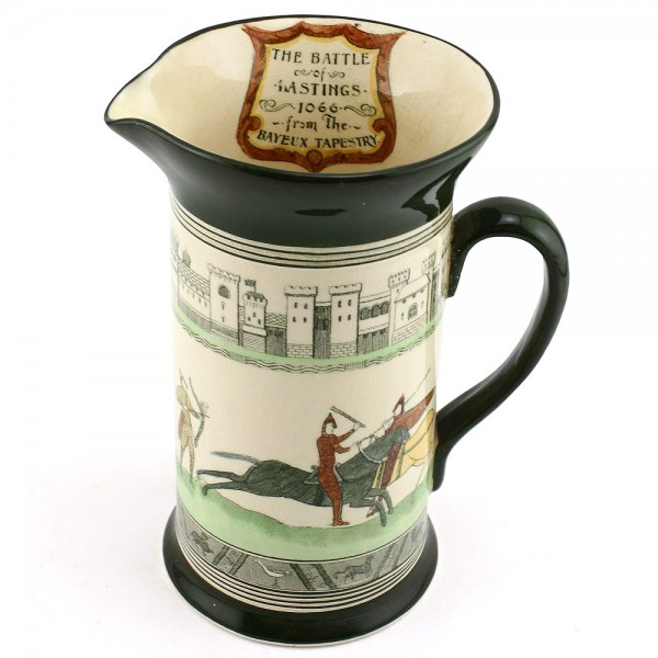 Bayeaux Tapestry Pitcher - Royal Doulton Seriesware