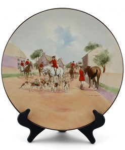 "Charger, ""The Meet"" - Royal Doulton Seriesware"