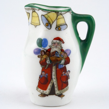 Christmas Mini Pitcher - Royal Doulton Seriesware