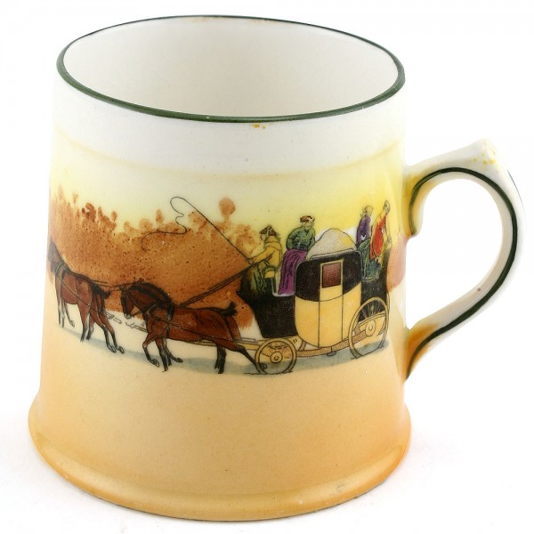 Coaching Mug, 3''H - Royal Doulton Seriesware