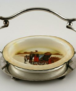 Coaching Oval Dish With Holder - Royal Doulton Seriesware