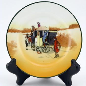 Coaching Smal Plate - Royal Doulton Seriesware