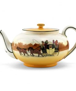 Coaching Teapot - Royal Doulton Seriesware