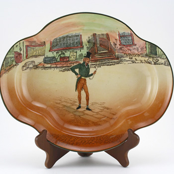 Dickens Alfred Jingle Bowl, Shallow - Royal Doulton Seriesware