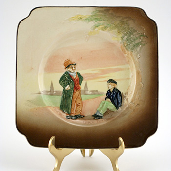 Dickens Relief Plate, Artful Dodger Oliver Twist - Royal Doulton Seriesware