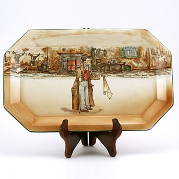 Dickens Artful Dodger Tray - Royal Doulton Seriesware