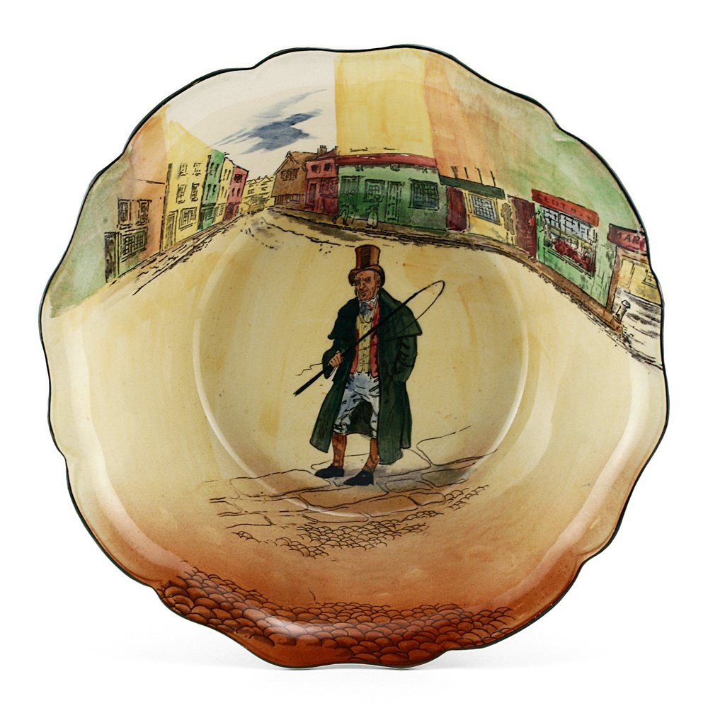 Dickens Barkis Bowl Serving - Royal Doulton Seriesware