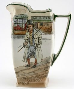Dickens Barkis Sq Pitcher - Royal Doulton Seriesware