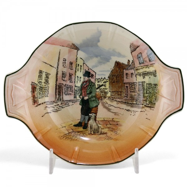 Dickens Bill Sykes Bowl (Double Handle) - Royal Doulton Seriesware