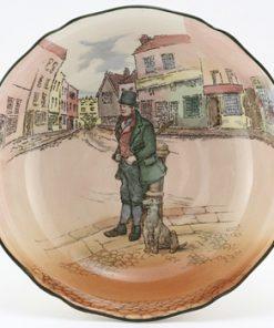 Dickens Bill Sykes Pedestal Bowl - Royal Doulton Seriesware