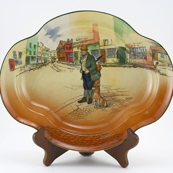 Dickens Bill Sykes Bowl, Shallow - Royal Doulton Seriesware