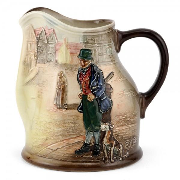 Dickens Bill Sykes Pitcher Bulbous - Royal Doulton Seriesware