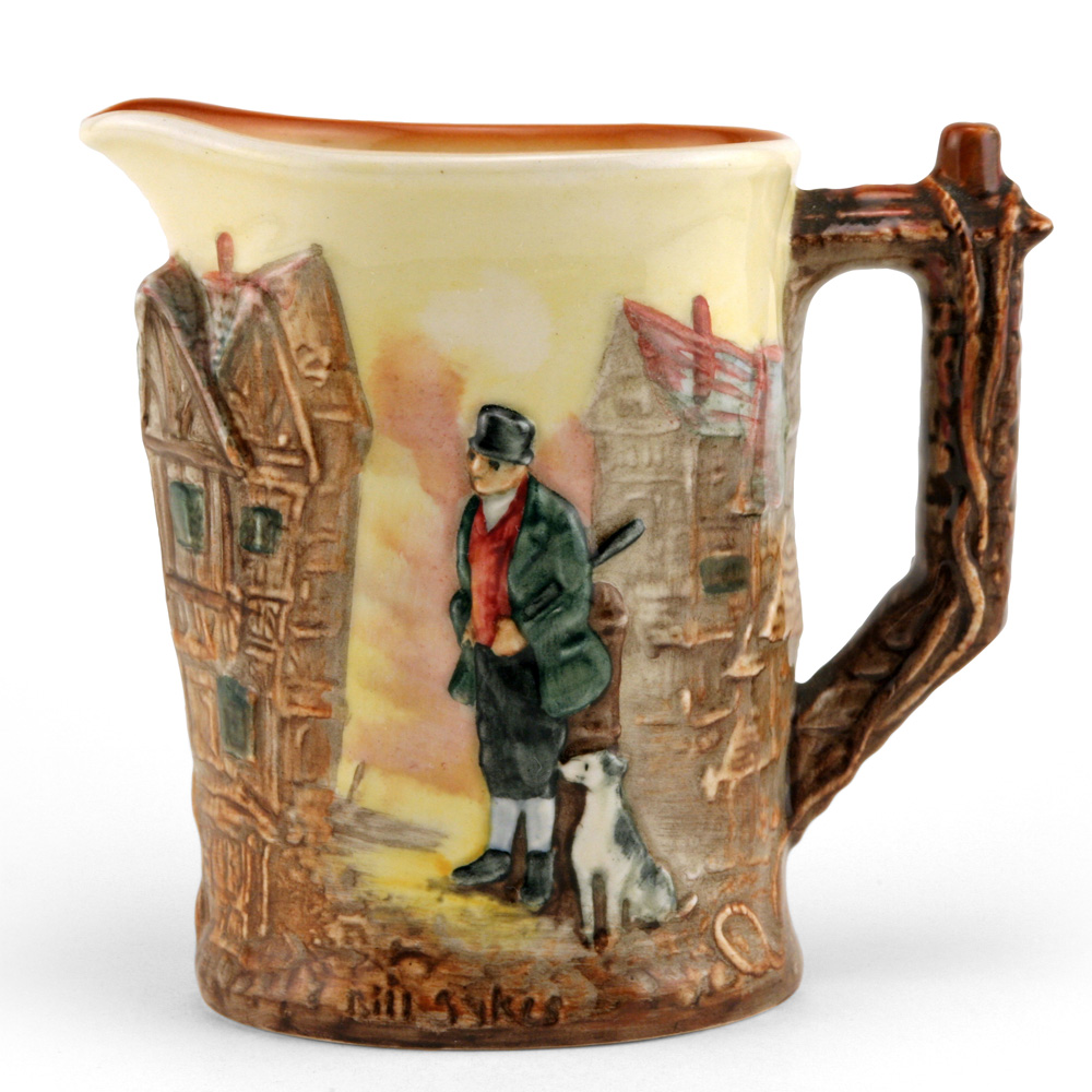 Dickens Bill Sykes Relief Pitcher - Royal Doulton Seriesware