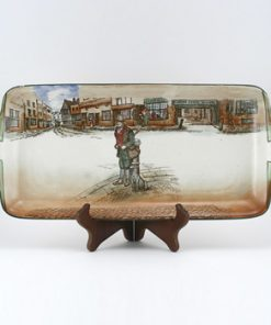 Dickens Bill Sykes Tray 18''L - Royal Doulton Seriesware