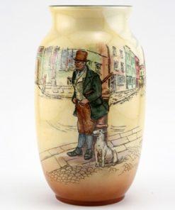 Dickens Bill Sykes Vase - Royal Doulton Seriesware