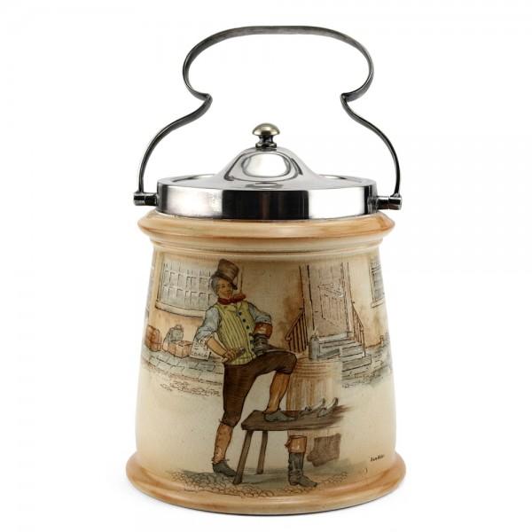 Dickens Biscuit Barrel - Royal Doulton Seriesware
