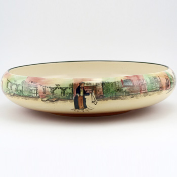 Dickens Bowl Shallow Round - Royal Doulton Seriesware