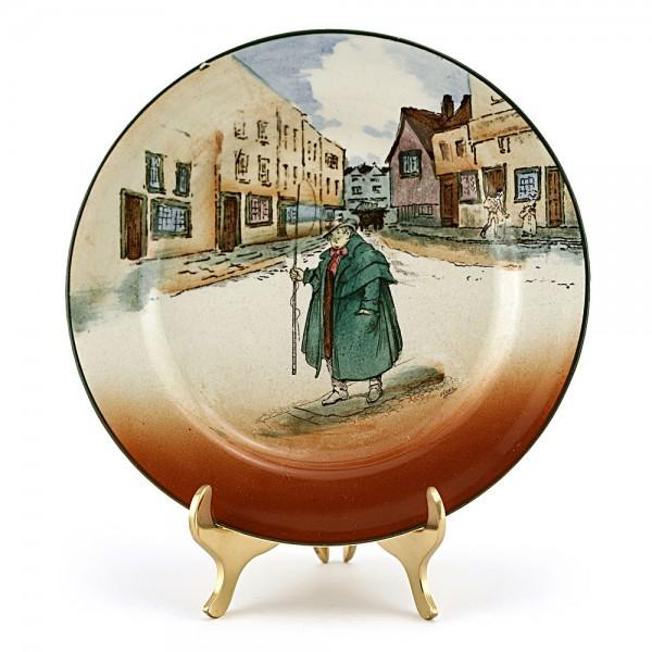 Dickens Bread Plate - Royal Doulton Seriesware
