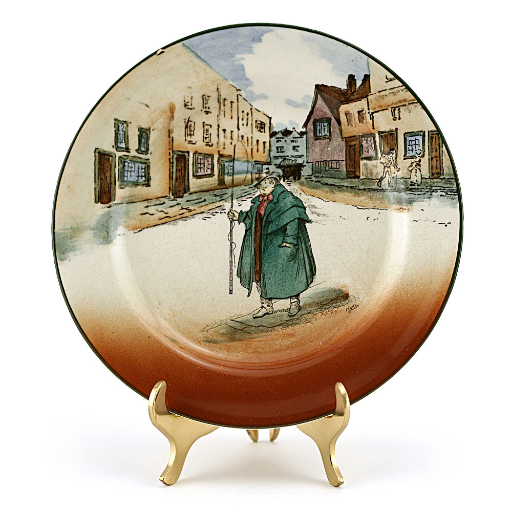 Dickens Bread Plate - Royal Doulton Seriesware