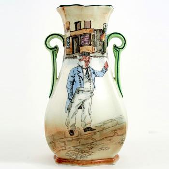 Dickens Cap'N Cuttle Vase - Royal Doulton Seriesware