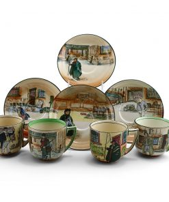 Dickens Cup and Saucer (One cup, one saucer) - Royal Doulton Seriesware