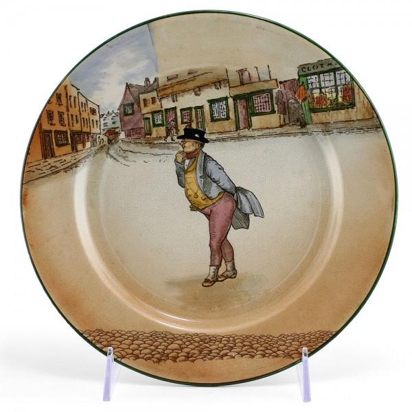 Dickens Dinner Plate, 9.5'' Dia - Royal Doulton Seriesware