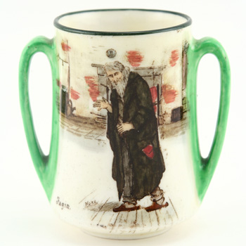 Dickens Fagin Mini Vase - Royal Doulton Seriesware