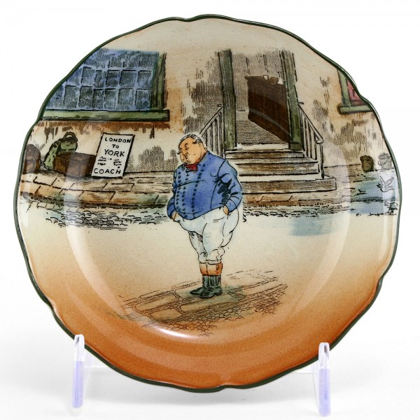 Dickens Fat Boy Dish Round - Royal Doulton Seriesware