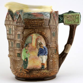 Dickens Fat Boy & Poor Jo Pitcher - Royal Doulton Seriesware