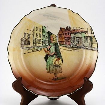 Dickens Little Nell Bowl Shallow - Royal Doulton Seriesware