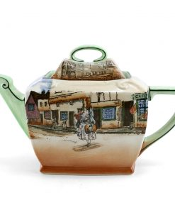 Dickens Little Nell Teapot (Rectangular) - Royal Doulton Seriesware