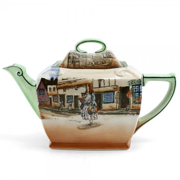 Dickens Little Nell Teapot (Rectangular) - Royal Doulton Seriesware