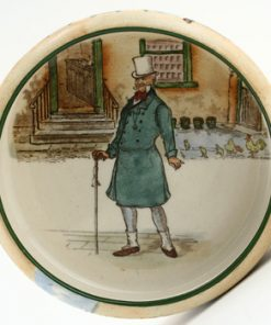 Dickens Mr Micawber Ashtray / Matchbox Holder - Royal Doulton Seriesware