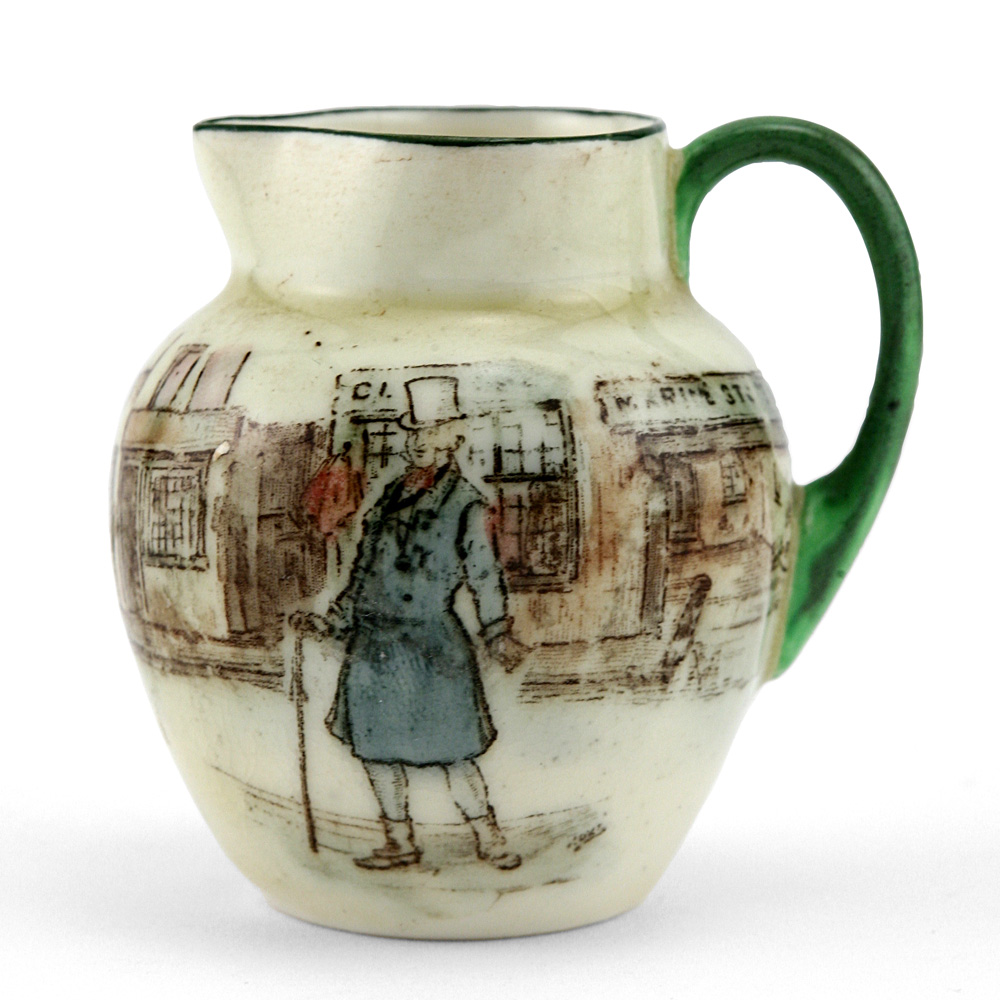 Dickens Mr Micawber Pitcher Mini - Royal Doulton Seriesware