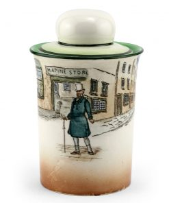 Dickens Mr Micawber Tobacco Jar - Royal Doulton Seriesware
