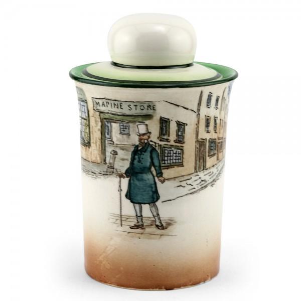 Dickens Mr Micawber Tobacco Jar - Royal Doulton Seriesware